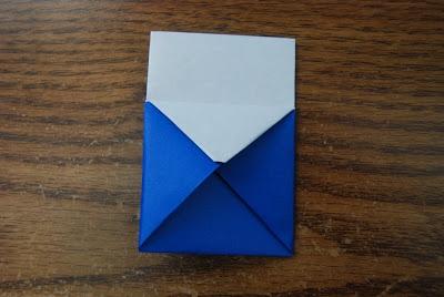 Как сделать кошелек из бумаги для монет