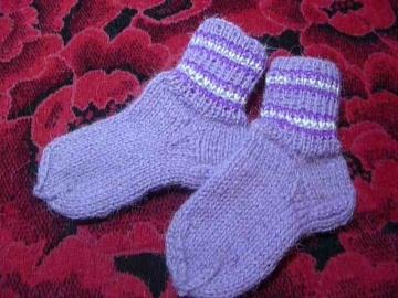 Носки спицами от А до Я спицами  бесшовные, самые простые, бабушкины.
