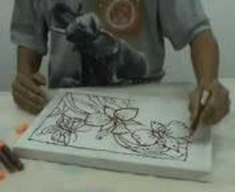 Batik Painting the quick way