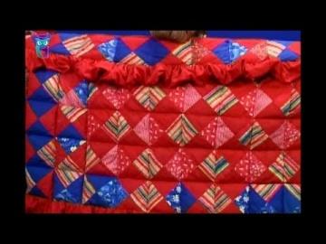 Лоскутное шитье. Шьем яркое, красочное лоскутное одеяло. Мастер класс. Татьяна Лазарева