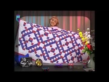 """Лоскутное шитье. Шьем одеяло и рюкзак по схеме """"оригинальная ирландская цепочка"""". Мастер класс"""