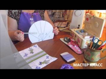 """Мастер класс  - домашний текстиль в стиле """"прованс"""" своими руками"""
