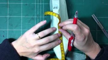 Изготовление лекала для обуви