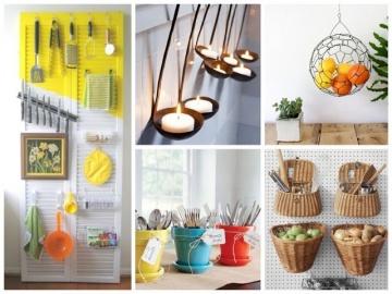 Красивые мелочи для кухни своими руками: идеи