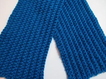 Эластичный шарф крючком