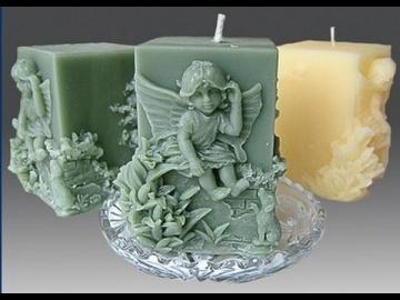 Невероятно красивые свечи своими руками. Дизайн свечей.