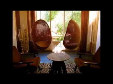 Подвесные кресла -  романтика в доме