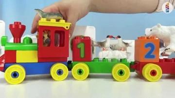 Видео для детей. Аппликация Северный полюс. Морж Белый медведь Север