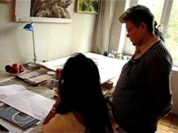 Уроки по композиции / drawing composition lesson by Muza Kirnizkaya
